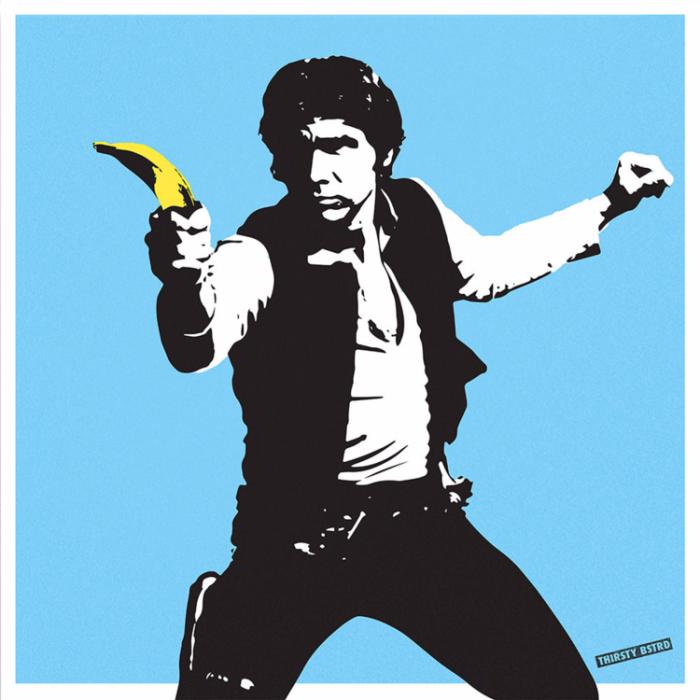Reem Gallery -Thirsty Bstrd Han Solo Banana (Hi Res)